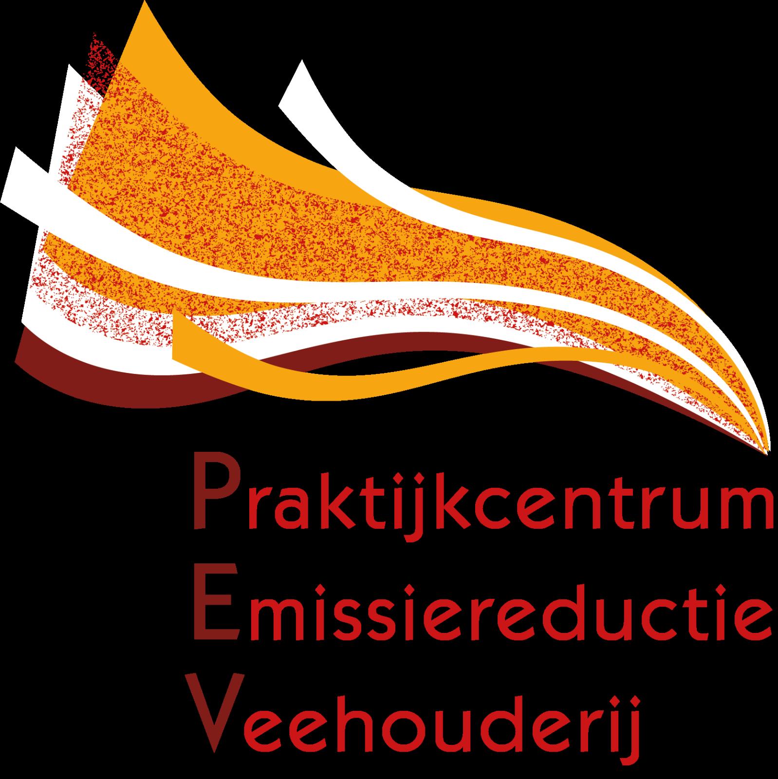 Logo Praktijkcentrum Emissiereductie (PEV) Veehouderij_Fijnstfof Event