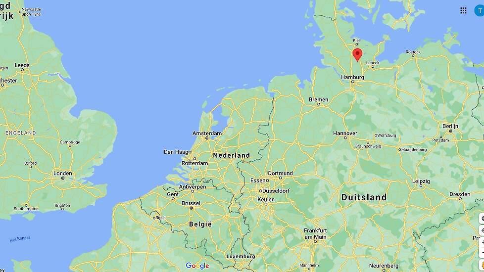 Op een hobbbypluimveebedrijf in het district Segeberg in de gemeente Heidmühlen (zie rode stip op de kaart) is hoog pathogene vogelgriep vastgesteld.