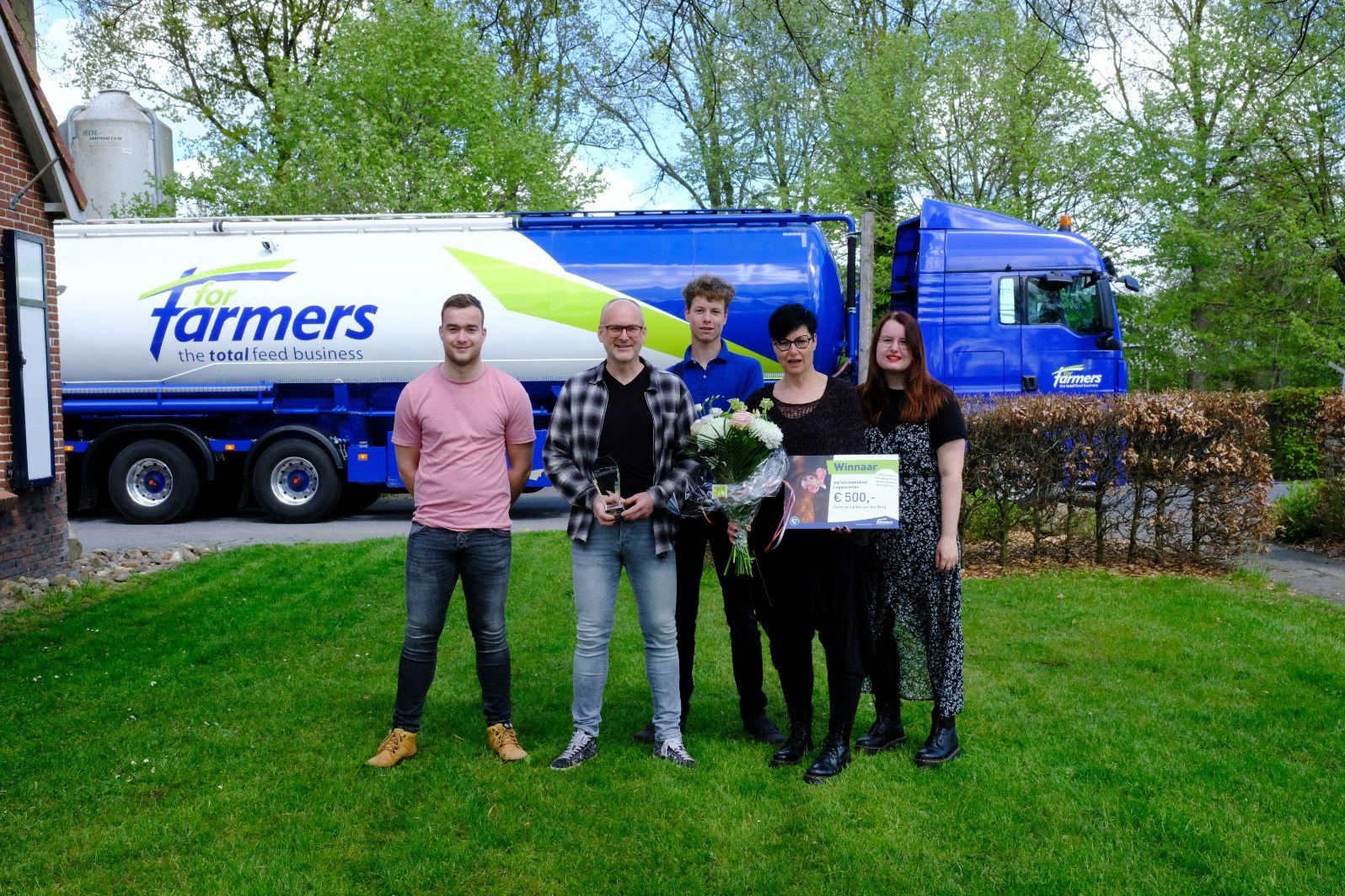 Prijs voor leghennenbedrijf Van den Berg vanwege aandacht voor dier, mens en toekomst